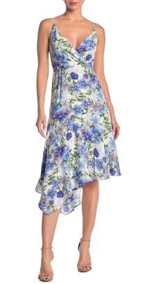 Yumi Kim Havana Floral Asymmetrical Hem Dress
