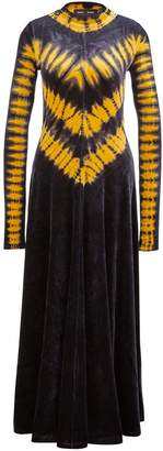 Proenza Schouler Long tie-dye dress