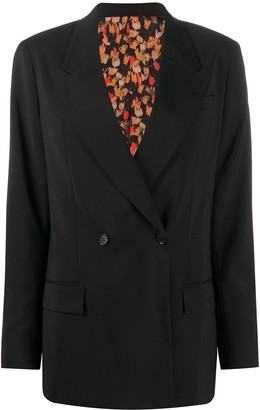 Each X Other x Austyn The Birds We Shoot reversible blazer
