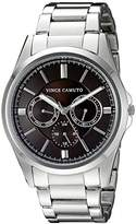 Vince Camuto Men's VC/1084BYSV Multi-Function Silver-Tone Bracelet Watch