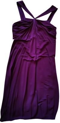 Yigal Azrouel Burgundy Dress for Women