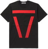Givenchy Columbian-Fit Appliquéd Cotton-Jersey T-Shirt