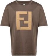 Fendi embroidered FF logo T-shirt