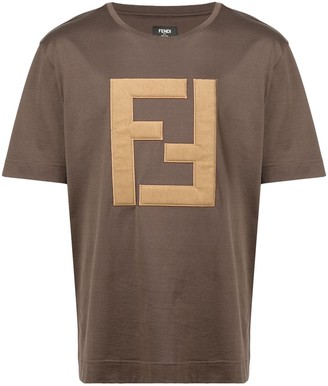 Fendi embroidered FF logo T-shirt