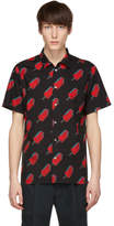 Paul Smith Black and Red Popsicle Shirt