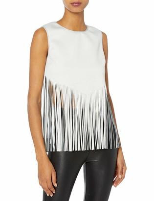 Clover Canyon Sportswear Women's Neoprene Laser Cut Top