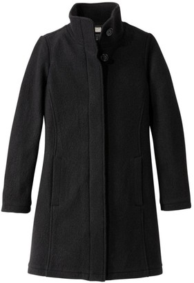 L.L. Bean Women's L.L.Bean Boiled Wool Coat