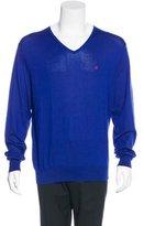 Carolina Herrera Knit V-Neck Sweater