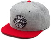 Vans Off The Wall Men's Badge Snapback Hat Cap