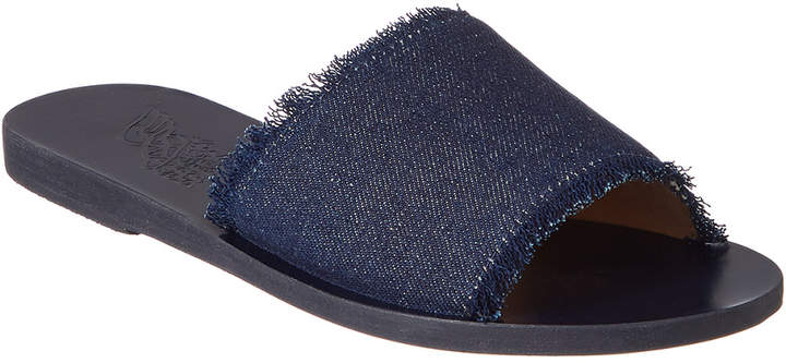 Ancient Greek Sandals Taygete Denim Sandal