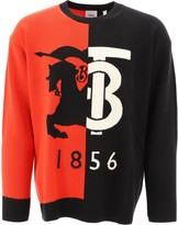 Burberry Colour Block Logo Sweater