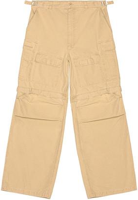 Balenciaga Large Cargo Pants in Beige   FWRD