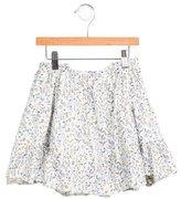 Fendi Girls' Printed A-Line Skirt