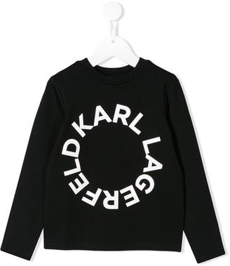 Karl Lagerfeld Paris Circle Logo sweater