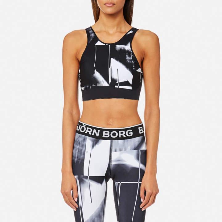 Bjorn Borg Women's Abstract Court Billie Sports Top