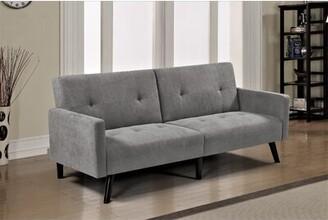 Eldon Sofa Bed Wrought Studio Upholstery Color: Gray