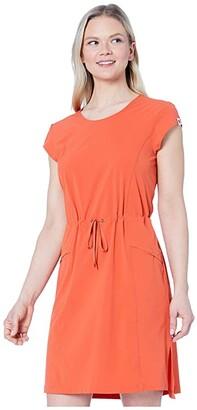 Fjallraven High Coast Lite Dress (Rowan Red) Women's Clothing