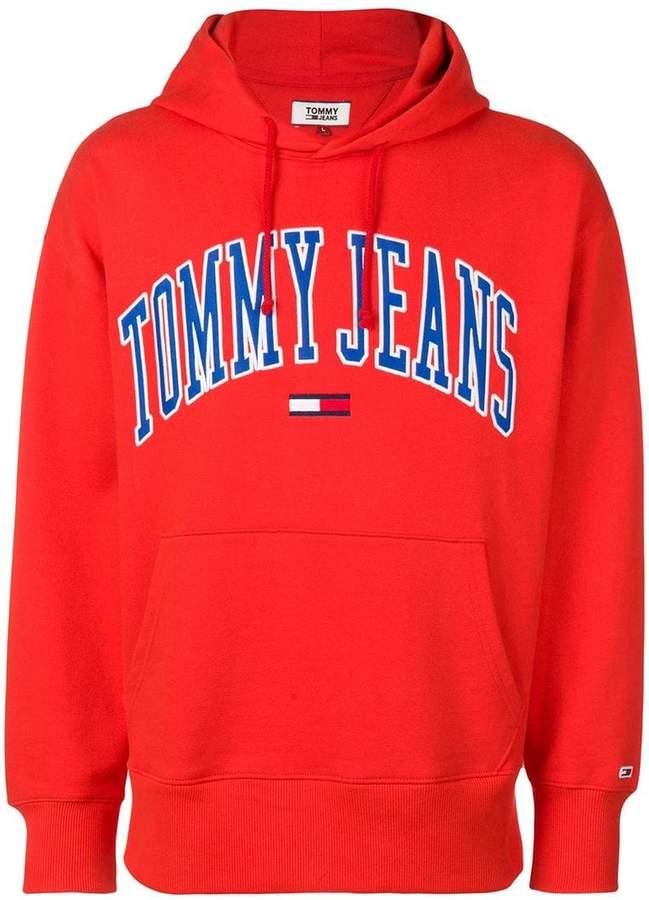 f37d0d2d Tommy Jeans Red Men's Sweatshirts - ShopStyle