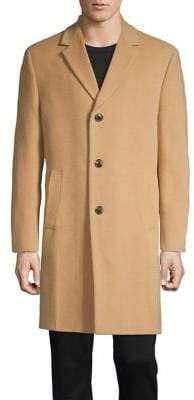 Nautica Notch Lapel Classic-Fit Coat