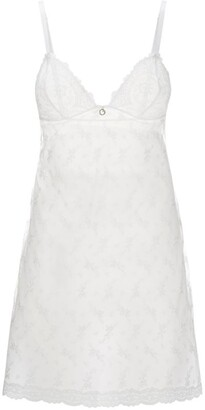 Aubade Embroidered Sheer Chemise