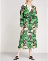 Stella McCartney Microphone-print cotton dress