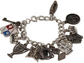 One Kings Lane Vintage Sterling Silver Multi-Charm Bracelet