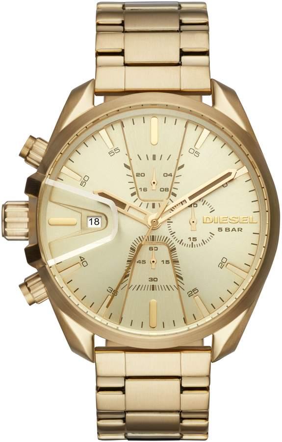 Diesel R) MS9 Chronograph Bracelet Watch, 47mm x 54mm