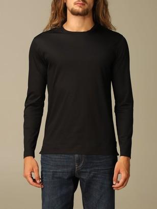 Ermenegildo Zegna T-shirt T-shirt In Pure Cotton With Long Sleeves