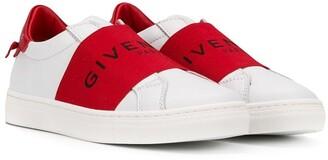 Givenchy Kids logo strap sneakers