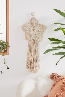 Macrame Flower Wall Hanging