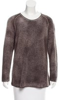 Avant Toi Cashmere Scoop Neck Sweater