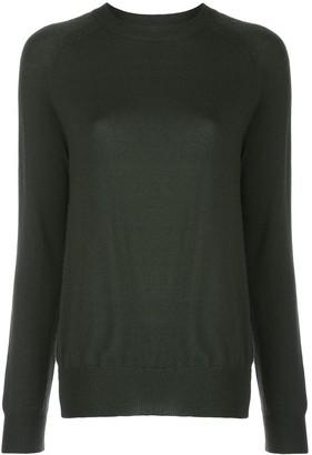 Oscar de la Renta Raglan-Sleeved Sweater