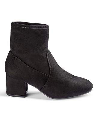 Jd Williams Flexi Sole Stretch Ankle Boots EEE Fit