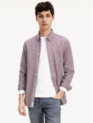Tommy Hilfiger Slim Fit Peached Gingham Shirt