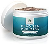 Foxbrim Pure Dead Sea Mud Mask - 100% Natural Clay Mask - Additive Free - Restoring & Detoxifying Dead Sea Mud Mask For Acne, Tone and Lines - Imported from Israel - 240mL/8OZ