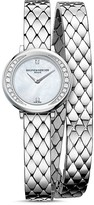 Baume & Mercier Petite Promesse Diamond Double Wrap Watch, 22mm