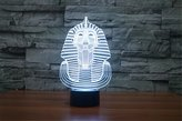 ATD® ATD Gradual Changing Acrylic 3D Illusion Sphinx LED Touch Desk Lamp,Perfect Indoor Illumination Lamp