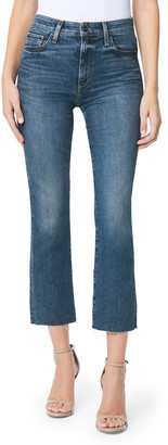 Joe's Jeans The Callie Cropped Boot-Cut Jeans w/ Raw Hem