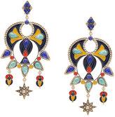 Roberto Cavalli maxi earrings