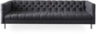 Jonathan Adler Baxter Deep Grand Sofa in Oxford Charcoal