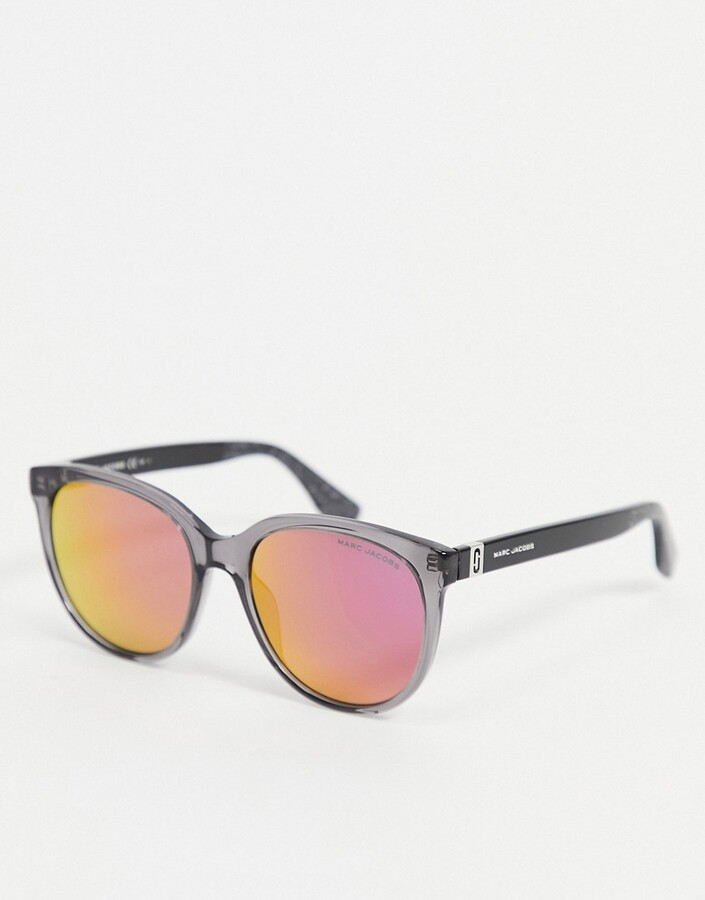 Thumbnail for your product : Marc Jacobs 445/S black frame sunglasses