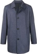 Corneliani Checked Single-Breasted Coat