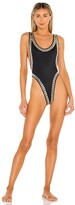 Thumbnail for your product : Norma Kamali Stud Marissa Swimsuit