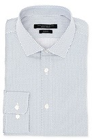 John Varvatos Star Usa U Print Wrinkle-Resistant Slim Fit Dress Shirt
