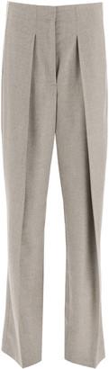 Stella McCartney Melange Wool Trousers