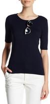 philosophy Elbow Sleeve Length Sweater (Petite)