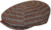 Kangol Men's Tweed Ripley Flat Cap