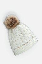 Fashion to Figure Juno Faux Fur Lined Beanie