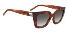HUGO BOSS Dark Havana Sunglasses In Acetate With Hardware Detail