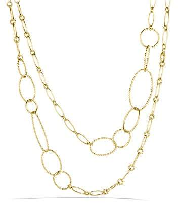 David Yurman Mobile Link Necklace in Gold